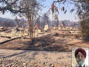 The Fountain Grove Parkway neighborhood after Oct. 9 wildfire