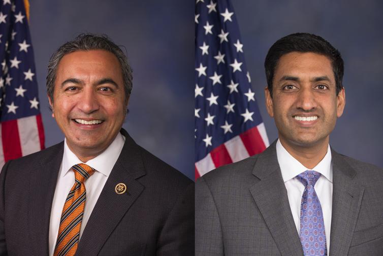 Ami Bera and Ro Khanna win Congressional primaries