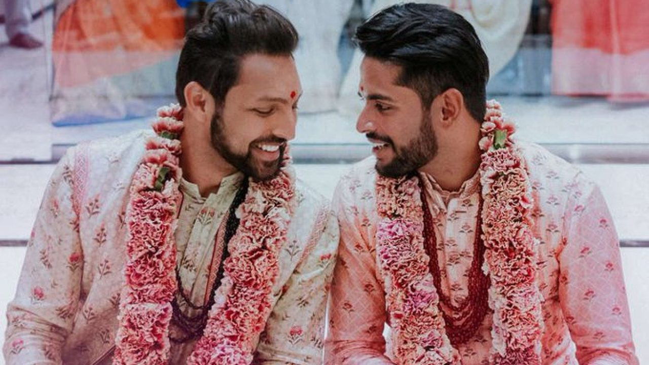 Gay Indian-American couple weds in New Jersey - Indica News