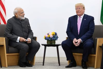 Trump Says India's Modi Feels He Has 'It under Control' in Kashmir