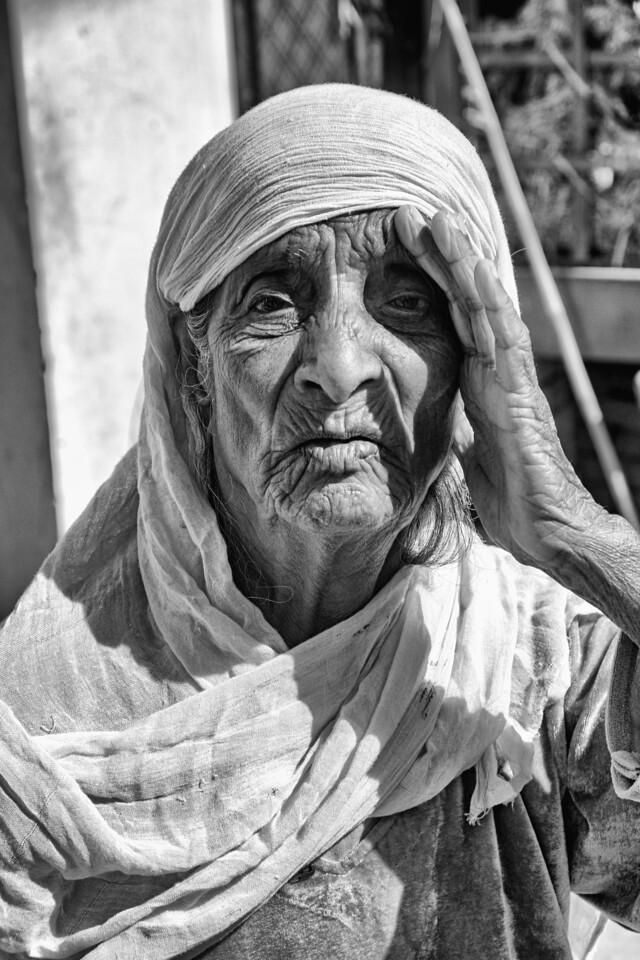 Thoya Khalsa resident Photo by Amrinder Singh