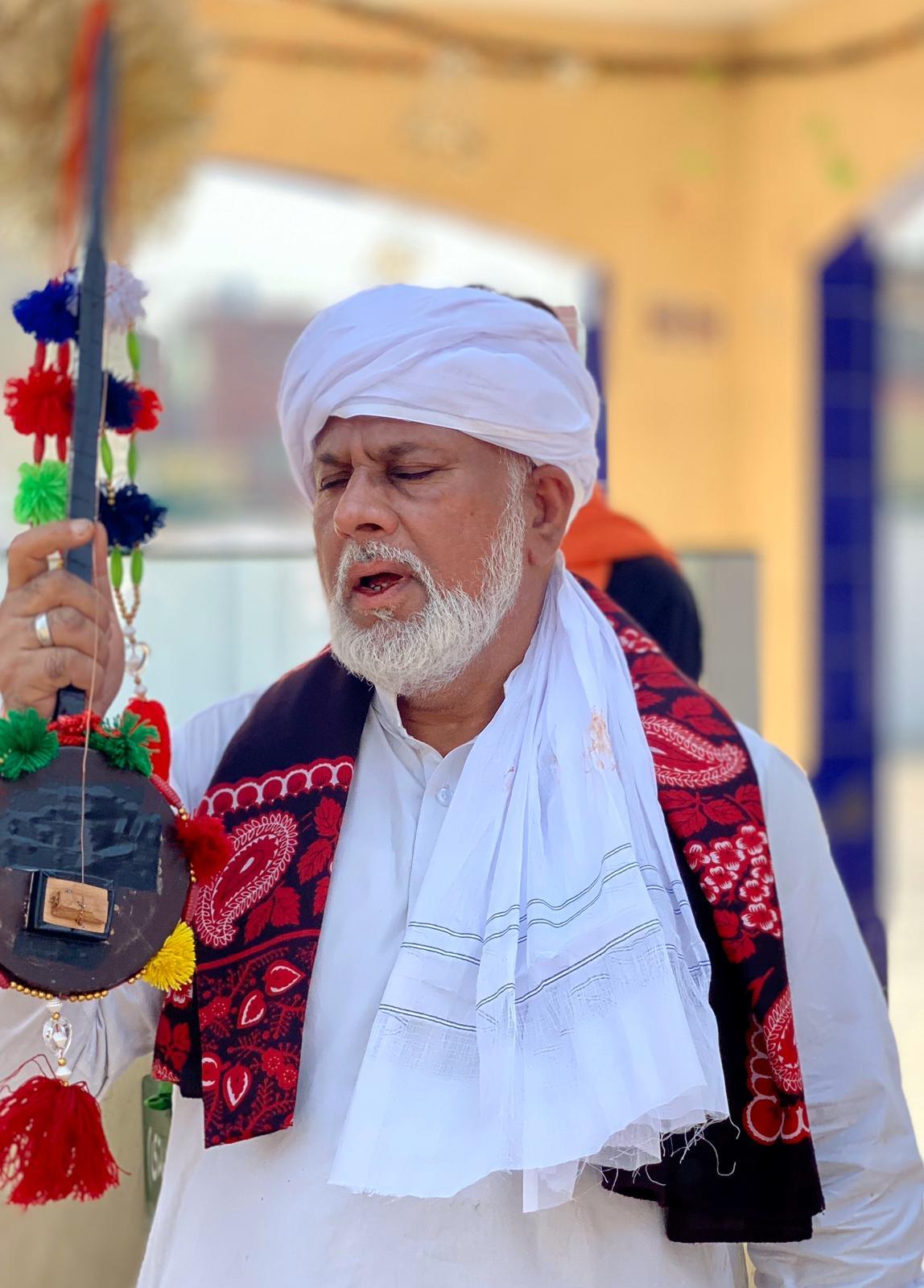Hazrat Mirza Iqbal Baigh Photo by Amrinder Singh