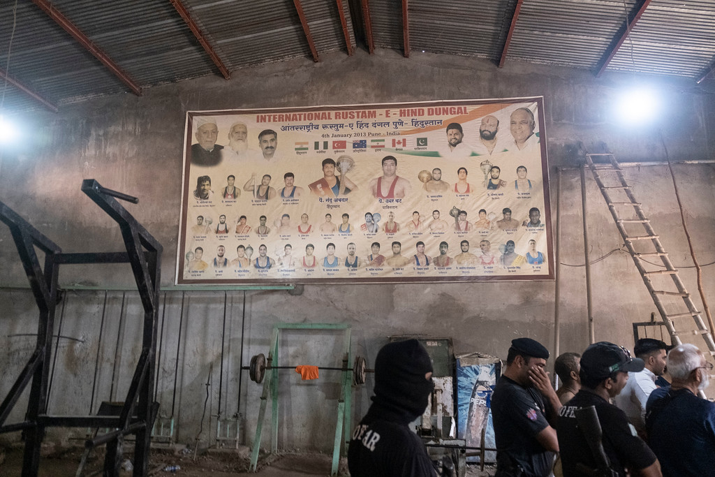 Poster of Wrestling Competition held in India Photo by Amrinder Singh