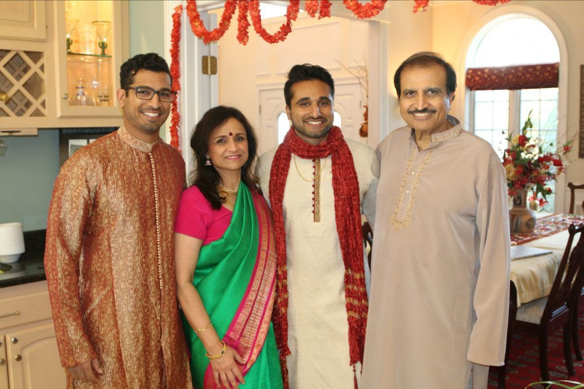 Mahesh Pati and family