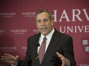 Harvard Bacow